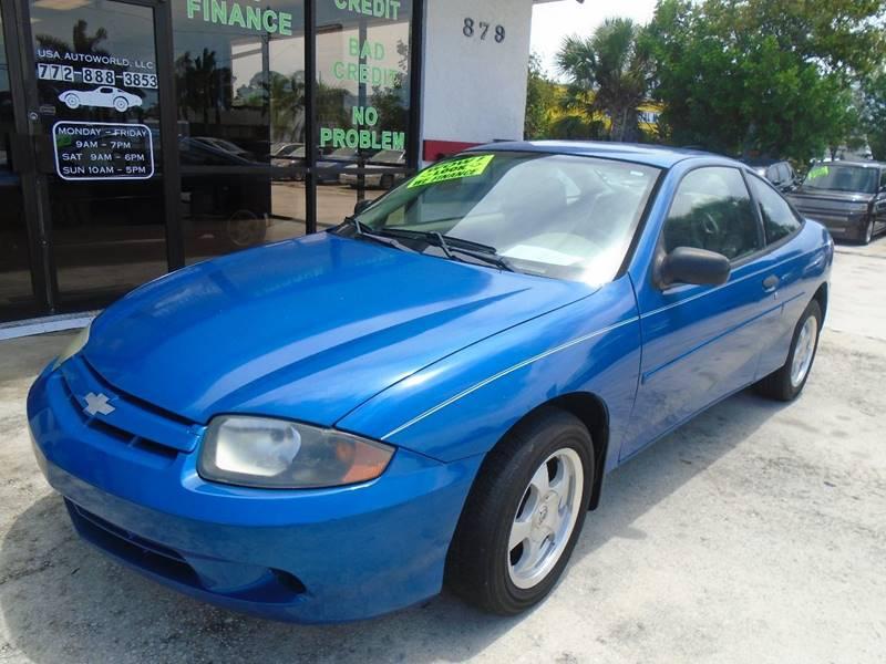 2003 Chevrolet Cavalier 2dr Coupe - Stuart FL