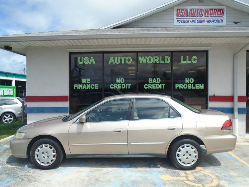 2000 Honda Accord LX V6 4dr Sedan