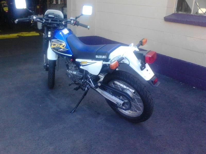 2000 Suzuki DR200  - Kingston PA