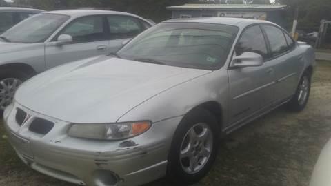 2002 Pontiac Grand Prix for sale in Picayune, MS