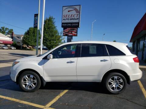 2008 Acura MDX for sale at Select Auto Group in Wyoming MI