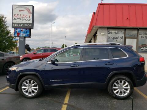2016 Jeep Cherokee for sale at Select Auto Group in Wyoming MI