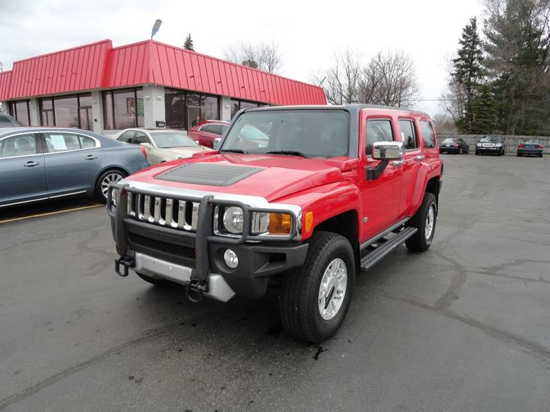 2008 hummer h3 4x4 4dr suv in wyoming mi select auto group. Black Bedroom Furniture Sets. Home Design Ideas