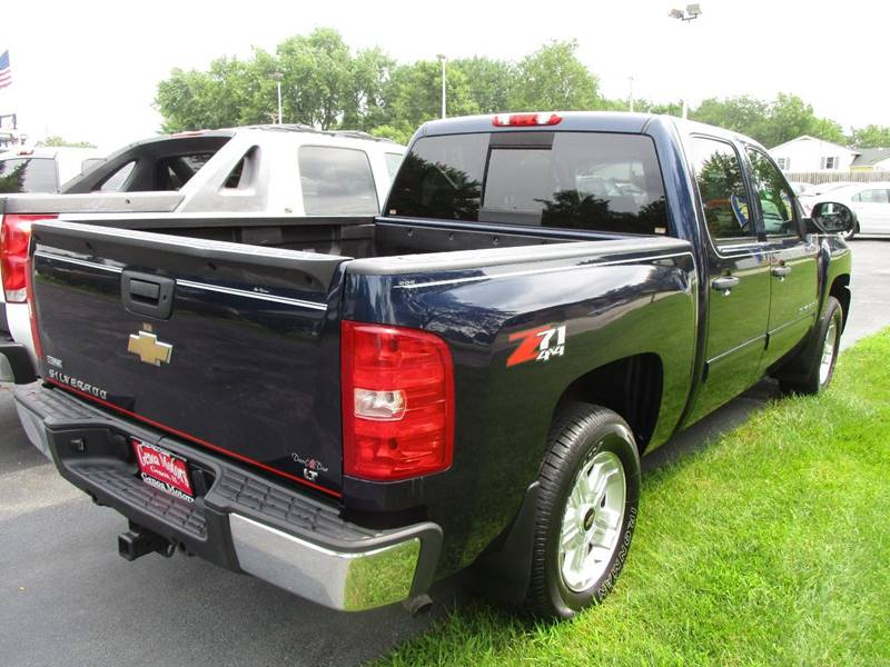 2009 Chevrolet Silverado 1500 4x4 Lt 4dr Crew Cab 5 8 Ft