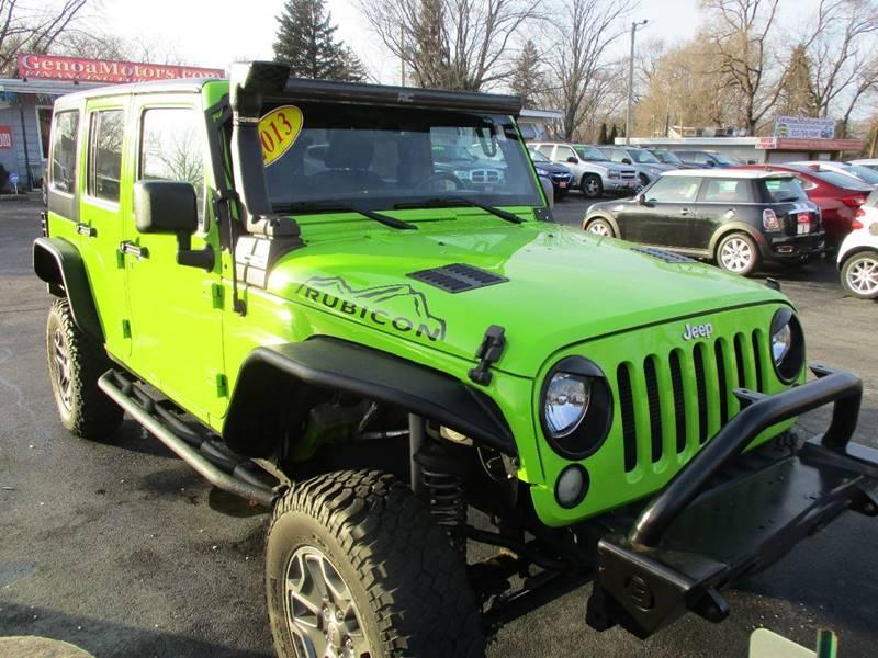 2013 Jeep Wrangler Unlimited 4x4 Rubicon 10th Anniversary
