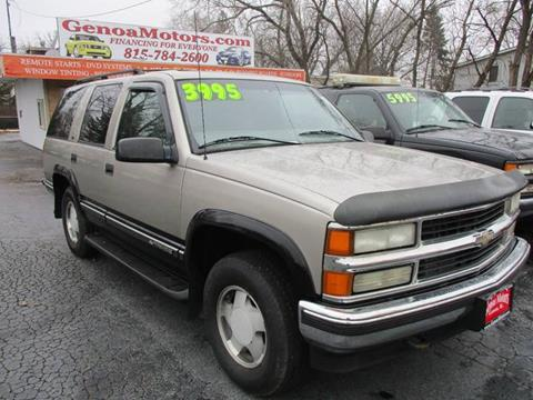 1999 Chevrolet Tahoe For Sale In Genoa IL