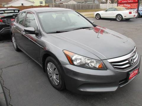 2012 Honda Accord for sale at GENOA MOTORS INC in Genoa IL