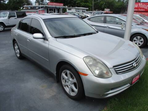 2004 Infiniti G35 for sale at GENOA MOTORS INC in Genoa IL