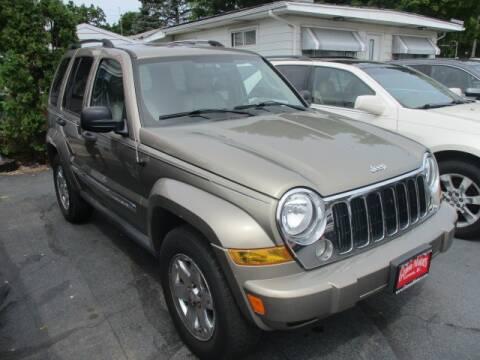 2005 Jeep Liberty for sale at GENOA MOTORS INC in Genoa IL