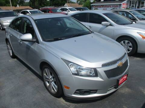 2013 Chevrolet Cruze for sale at GENOA MOTORS INC in Genoa IL
