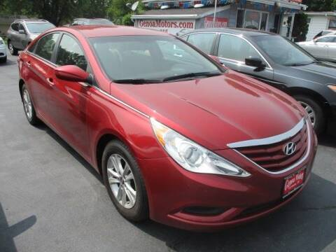 2013 Hyundai Sonata for sale at GENOA MOTORS INC in Genoa IL