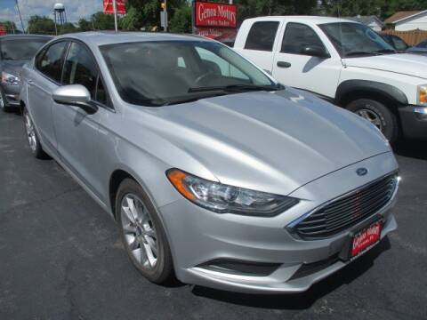 2017 Ford Fusion for sale at GENOA MOTORS INC in Genoa IL