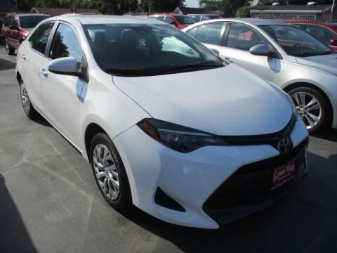2019 Toyota Corolla for sale at GENOA MOTORS INC in Genoa IL