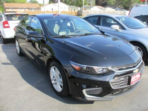 2018 Chevrolet Malibu for sale at GENOA MOTORS INC in Genoa IL