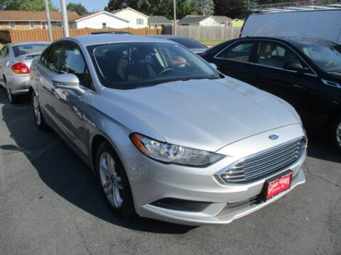 2018 Ford Fusion for sale at GENOA MOTORS INC in Genoa IL