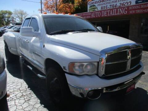 2005 Dodge Ram Pickup 3500 for sale at GENOA MOTORS INC in Genoa IL