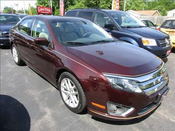 2012 Ford Fusion for sale at GENOA MOTORS INC in Genoa IL