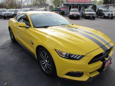 2015 Ford Mustang for sale at GENOA MOTORS INC in Genoa IL