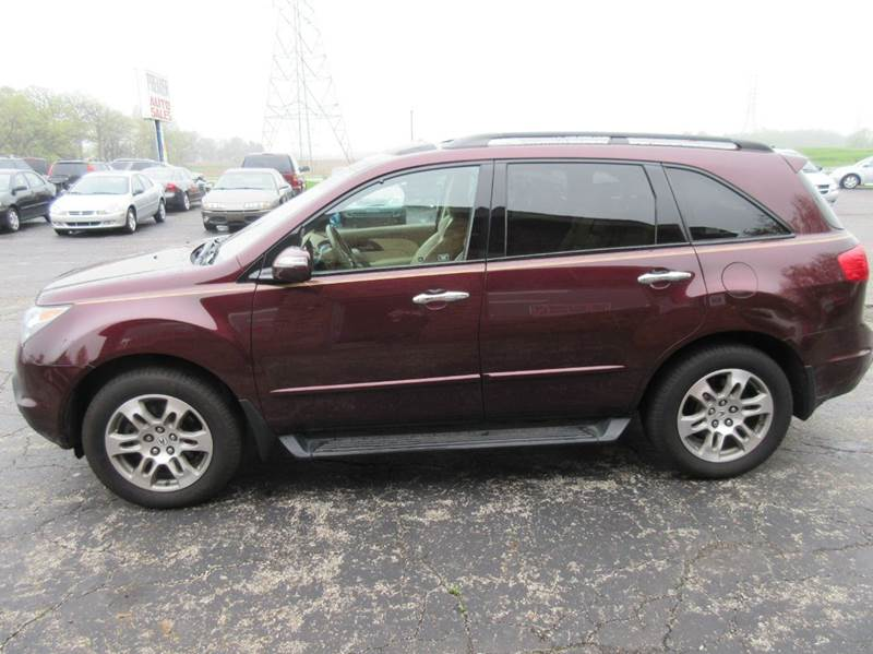 2007 Acura MDX SH-AWD w/Tech w/RES 4dr SUV w/Technology and Entertainment Package - Valparaiso IN