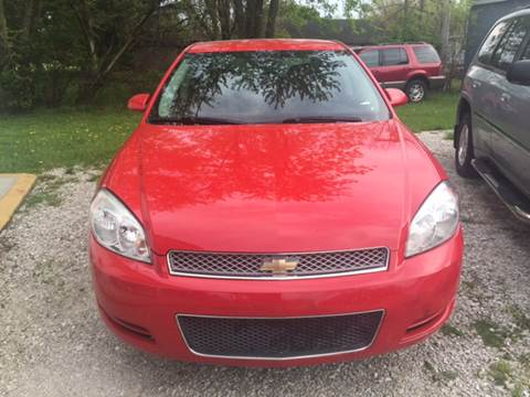 2013 Chevrolet Impala for sale at Ghazal Auto in Sturgis MI