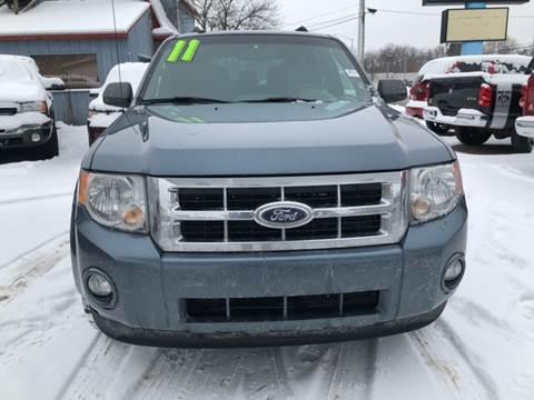 2011 Ford Escape for sale at Ghazal Auto in Sturgis MI