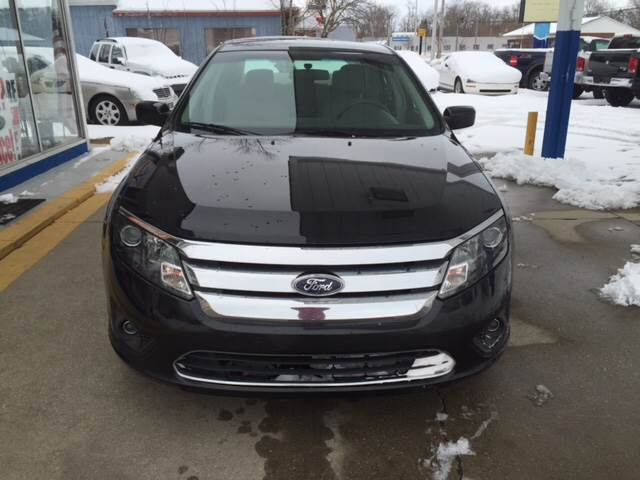 2010 Ford Fusion for sale at Ghazal Auto in Sturgis MI
