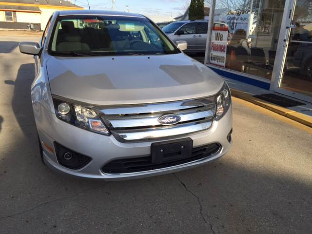 2012 Ford Fusion for sale at Ghazal Auto in Sturgis MI