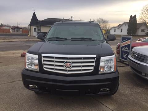 2005 Cadillac Escalade for sale at Ghazal Auto in Sturgis MI