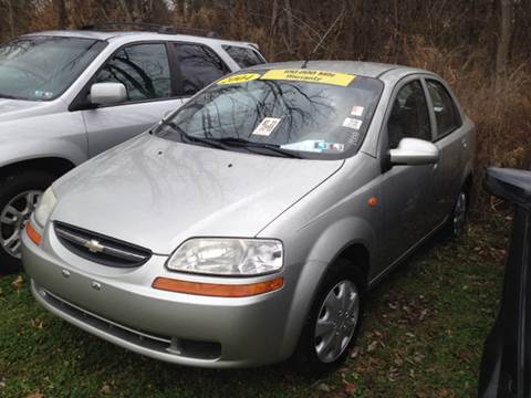 2004 Chevrolet Aveo for sale at Six Brothers Auto Sales in Youngstown OH
