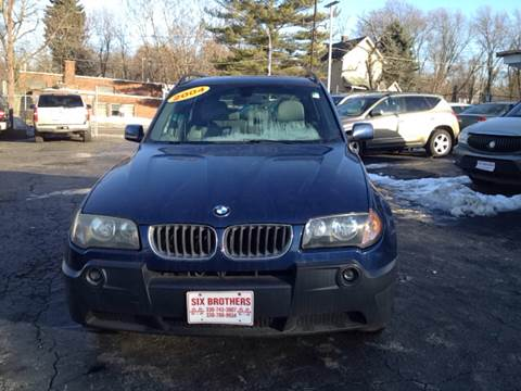 2004 BMW X3 for sale at Six Brothers Auto Sales in Youngstown OH