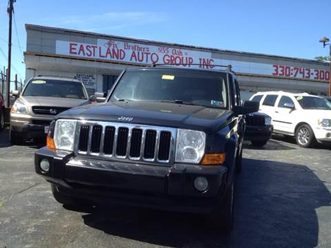 2009 Jeep Commander for sale at Six Brothers Auto Sales in Youngstown OH