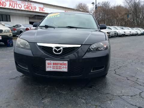 2007 Mazda MAZDA3 for sale at Six Brothers Auto Sales in Youngstown OH