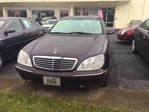 2000 Mercedes-Benz S-Class for sale at Six Brothers Auto Sales in Youngstown OH