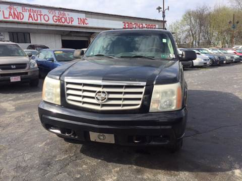 2002 Cadillac Escalade for sale at Six Brothers Auto Sales in Youngstown OH