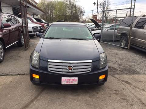 2004 Cadillac CTS for sale at Six Brothers Auto Sales in Youngstown OH