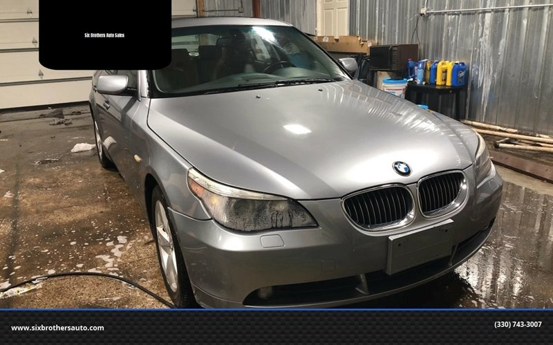 2007 Bmw 5 Series Awd 530xi 4dr Sedan In Youngstown Oh