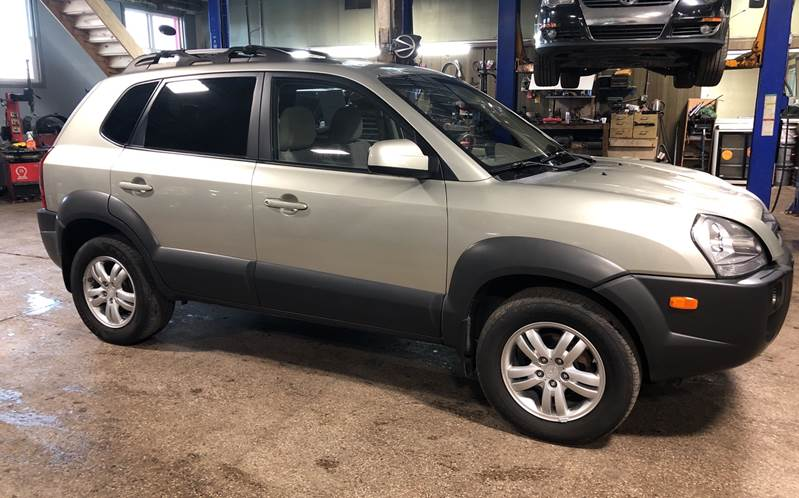 2008 Hyundai Tucson AWD Limited V6 4dr SUV - Youngstown OH