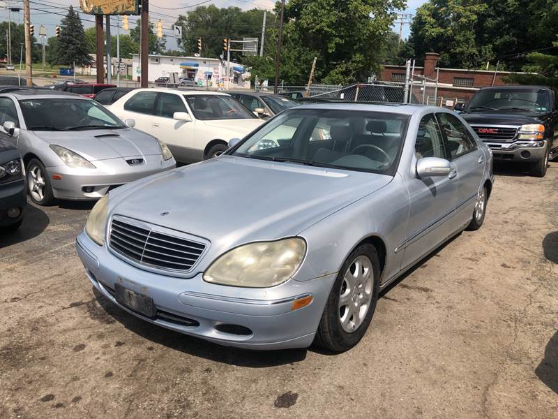 2002 Mercedes-Benz S-Class S 430 4dr Sedan - Youngstown OH