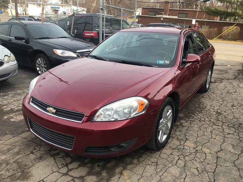 2008 Chevrolet Impala LT 4dr Sedan w/2LT - Youngstown OH