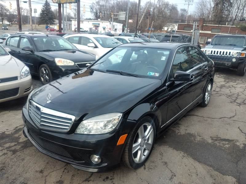 2010 Mercedes-Benz C-Class AWD C 300 Luxury 4MATIC 4dr Sedan - Youngstown OH