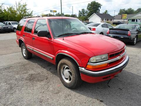 2001 Chevrolet Blazer for sale in Indianapolis, IN