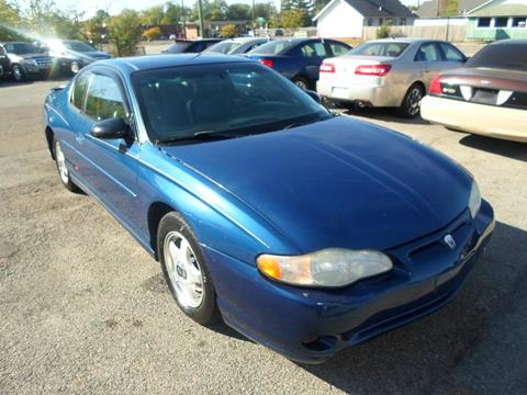 2003 Chevrolet Monte Carlo for sale in Indianapolis, IN
