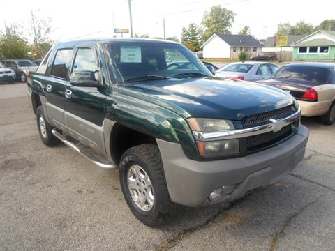 2002 Chevrolet Avalanche for sale in Indianapolis, IN