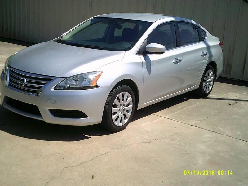 2014 Nissan Sentra for sale at ARKLATEX AUTO in Texarkana TX