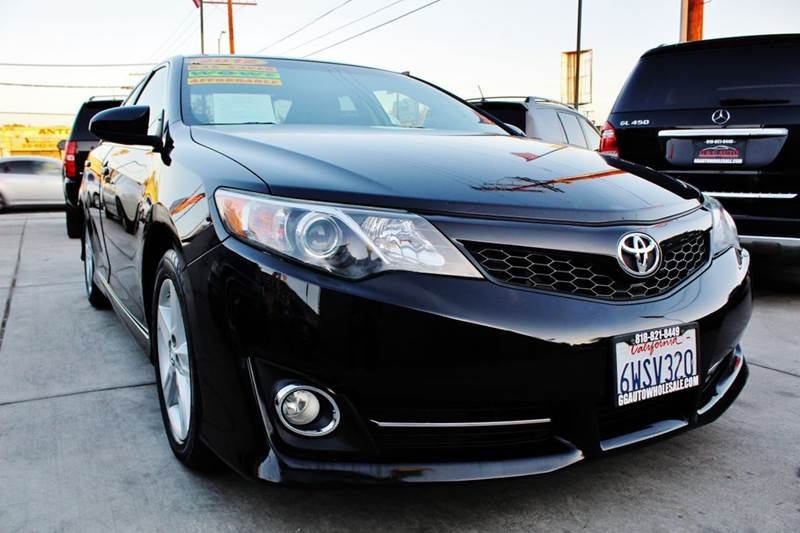 2012 toyota camry se sport limited edition 4dr sedan in north hollywood ca g g auto wholesale. Black Bedroom Furniture Sets. Home Design Ideas