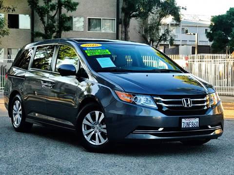 G And G Auto >> 2016 Honda Odyssey For Sale In North Hollywood Ca