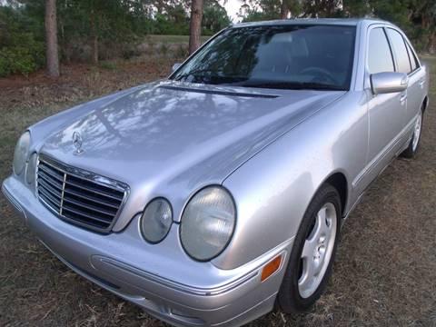 2001 Mercedes Benz E Class Special $2,500