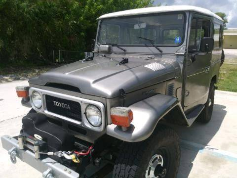 1980 Toyota Land Cruiser >> 1980 Toyota Land Cruiser For Sale In Port St Lucie Fl