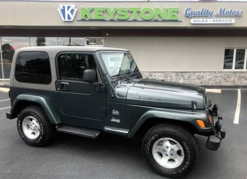 2003 Jeep Wrangler for sale in New Holland, PA