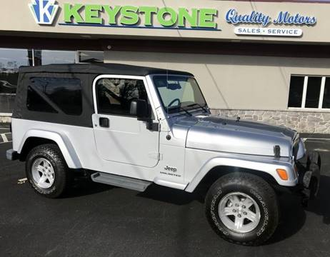 2005 Jeep Wrangler for sale in New Holland, PA